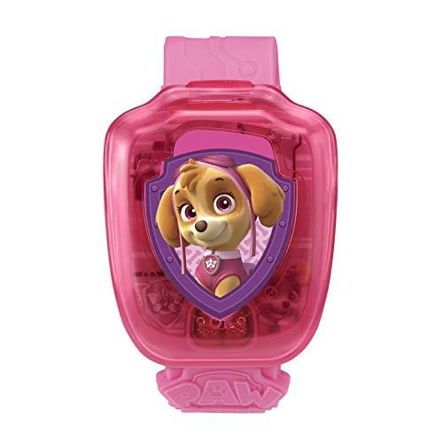 Vtech Interaktive Armbanduhr von Stella Paw Patrol-Pat\', Spielzeug, elektronisch, Lernspielzeug, 80 – 199585, Mehrfarbig – französische Version