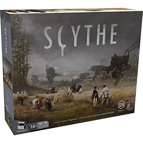 Matagot Scythe Board Game - French Retail Edition