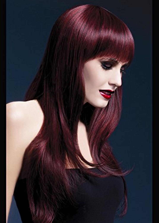 Ladies Deluxe amarena gotica parrucca