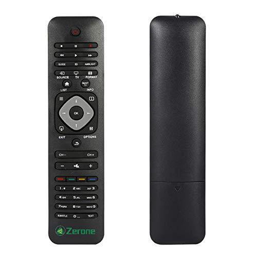 Universal-Fernbedienung für Philips TV, TV-Fernbedienung, Ersatz für Philips Marken LCD LED Fernseher