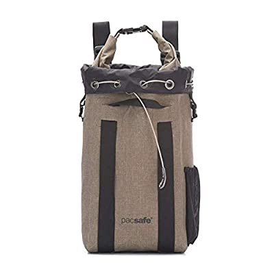Pacsafe Dry 15L Travelsafe Anti-Theft Waterproof Backpack Sand One Size