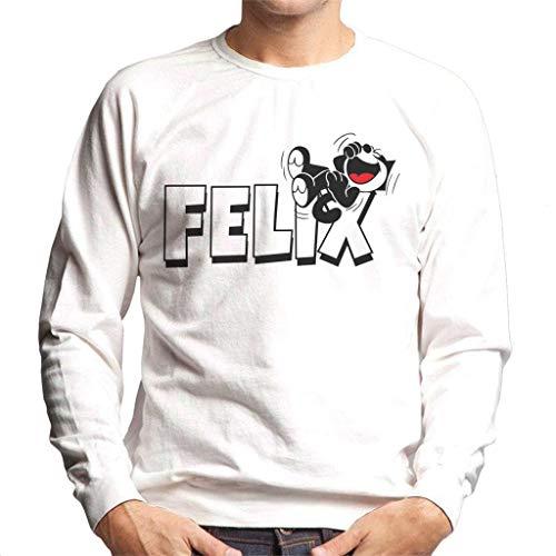 Felix The Cat Logo Men's Sweatshirt