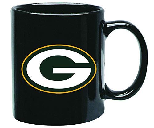 Memory Company Green Bay Packers NFL Offizielle Tasse, Becher, Kaffeetasse Black