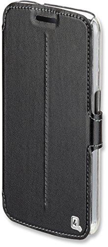4smarts 467231 SUPREMO Book Side-Flip-Tasche für Samsung Galaxy J1 (2016) schwarz