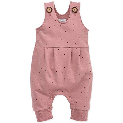 Pinokio - Petit Lou - Overall Baby Mädchen - Rosa Latzhose mit Knöpfen | Unisex | Gr. 56,62,68,74,80 (56 cm, Rosa)