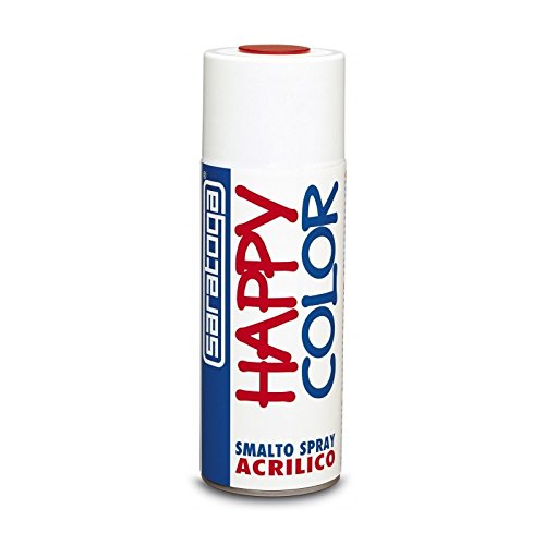 Vernica esmalte Spray Happy color cabeza de moro RAL 8019 Saratoga 400 ml