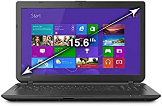 Toshiba Satellite C55-B5270 Laptop PC - Intel Pentium N3530 2.16 GHz Quad-Core Processor - 8 GB DDR3L SDRAM - 500 GB Hard Drive - 15.6-inch Display - Windows 8.1 - Jet Black
