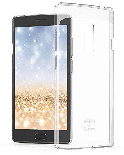 VENA OnePlus 2 Case hülle [vSkin] Premium Slim Transparent [Schock Saugfähig] TPU schutzhülle Cover Schale für OnePlus 2 / OnePlus Two