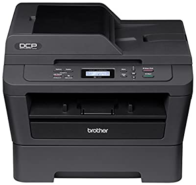 Brother Printer Refurbished Wireless Monochrome Printer with Scanner and Copier