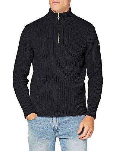 Schott NYC Plecorage2 Maglione Pullover, Anthracite, XL Uomo