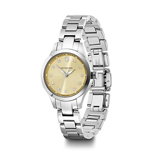 Victorinox Alliance XS Reloj de Acero Inoxidable para Mujer 241917