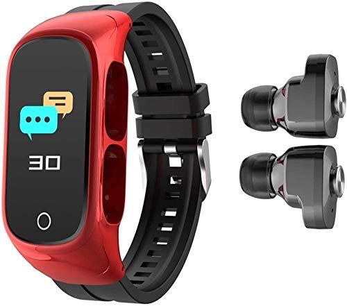 TYUI Rastreador de fitness de 0.96 pulgadas de pantalla de alta definición Bluetooth llamada inteligente mensaje recordatorio