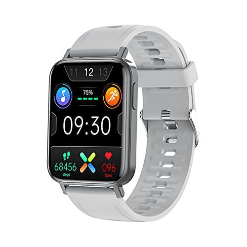 YWS 2021 Nuevo Reloj Inteligente Hombre 1.65 Pulgadas Presión Arterial Presión Arterial Monitor De Ritmo Cardíaco Fitness Rastreo Deportivo Smartwatch Mujer para Android iOS,D