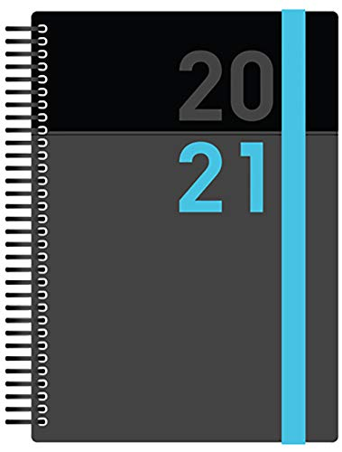 Collins Delta A5 Day to Page 2020-2021 Diary - Blue