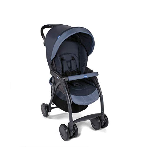 Chicco Simplicity Plus Stroller India Ink, Blue