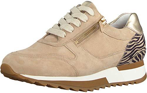 Hassia Damen Madrid Low-Top Sneaker, Beige, 41.5 EU