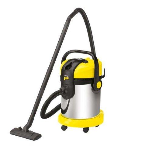 Kärcher A 2654ME - Aspirador, 1800 W, 25 l, 430 x 380 x 555 mm, 8600 g, color negro y amarillo: Amazon.es: Hogar