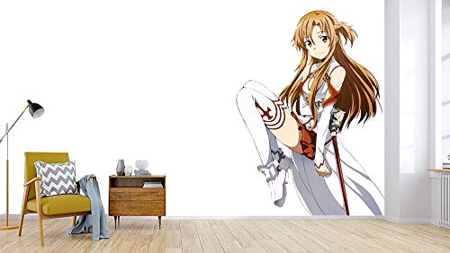 3D Print Anime Wallpaper Mural Wall Mural Wallpaper Cosplay Wall Painting Living Room Bedroom Office Hallway Decoration Wall Decoration SAO 250 x 175 cm (W x H)