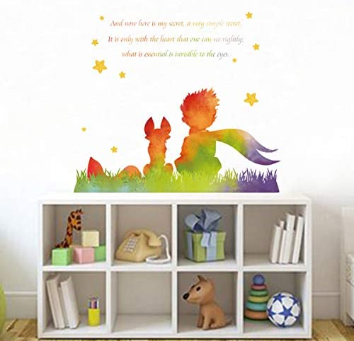 The little prince wall decal
