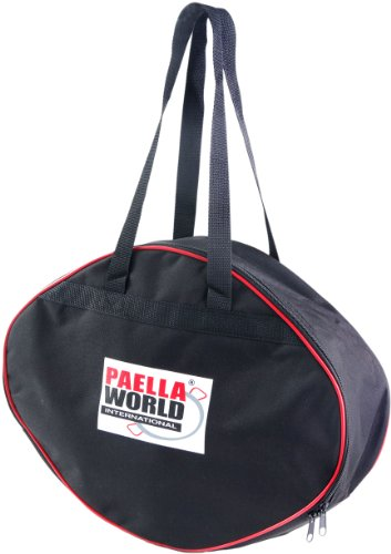 Paella World International barbecue-accessoires tas voor paella-pan, zwart, 1-delig Ø 46 cm zwart