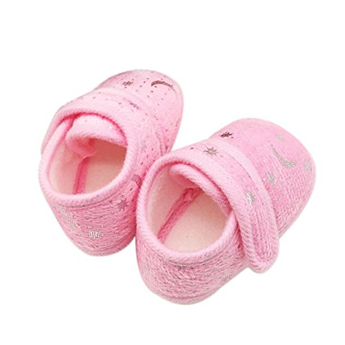 LIJUCH Starry Sky Printed Toddler Anti-Slip Soft Sloe Baby Shoes Clothing for Newborn Infant Baby Kids
