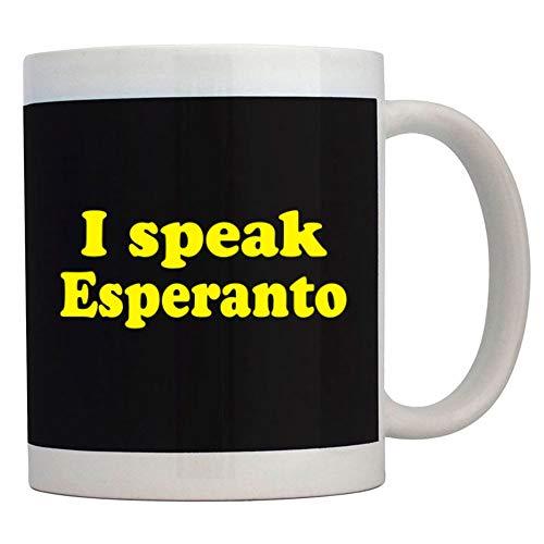 Teeburon I SPEAK Esperanto Mug 11 ounces ceramic