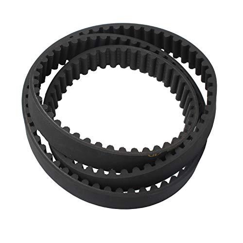 """Ketofa 120-3335 Lawn Mower Replacement Belt for 30"""" Toro TimeMaster Deack, 1203335 Replacement Belt Replaces for STENS 265-610 44"""" x 3/4"""""""