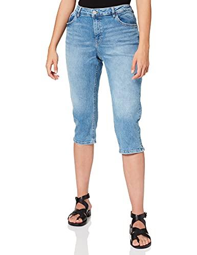 edc by ESPRIT Damen 991CC1B317 Jeans, 903/BLUE Light WASH, 29