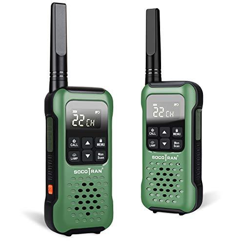 SOCOTRAN T90 FRS Walkie Talkies for Adults IP67 Waterproof Long Range FRS Two Way Radios Floating Flashlight & SOS Emergency Lamp, NOAA Weather Alert Walkie-Talkie. Buy it now for 81.99