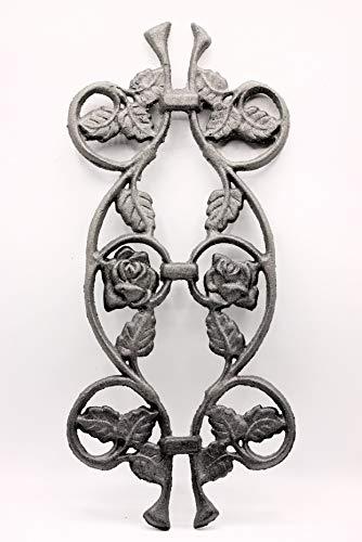 UHRIG ® Ornament Rose smeedijzeren gietijzer voor hek leuningen tuin #632
