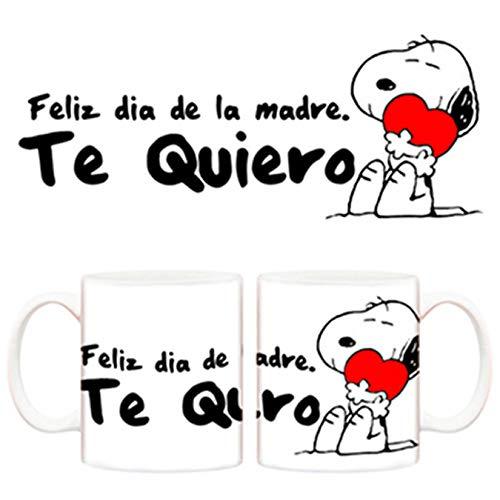 Diver Tazas Taza Feliz Dia de la Madre te Quiero - Cerámica