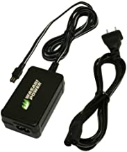 Wasabi Power AC Adapter for Sony AC-L200, AC-L200C, AC-L25, AC-L25A, AC-L25B, AC-L25C and Sony Handycam DCR-DVD7, DCR-DVD105, DCR-DVD108, DCR-DVD203, DCR-DVD205, DCR-DVD305, DCR-DVD308, DCR-HC20, DCR-HC21, DCR-HC26, DCR-HC28, DCR-HC30, DCR-HC32, DCR-HC36, DCR-HC38, DCR-HC40, DCR-PC109, DCR-SR45, DCR-SR47, DCR-SR68, DCR-SR80, DCR-SR82, DCR-SR100, DCR-SX44, DCR-SX45, DCR-SX63, DCR-SX65, DCR-SX85, DSC-HX100V, FDR-AX100, HDR-CX150, HDR-CX160, HDR-CX260V, HDR-CX580V, HDR-CX760V, HDR-CX900, HDR-HC3, HDR-HC5, HDR-HC7, HDR-PJ260V, HDR-PJ710V, HDR-PJ760V, HDR-SR10, HDR-SR11, HDR-SR12, HDR-XR150, HDR-XR260V, DEV-3, DEV-5