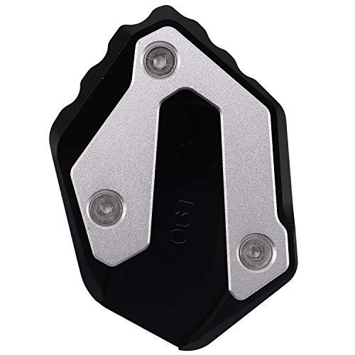 Adanse - Piastra di regolazione laterale per moto Mt07 Mt-07 Xsr700 Xsr 700 Xsr 700 Tracer 900 Gt accessorio per moto (nero)