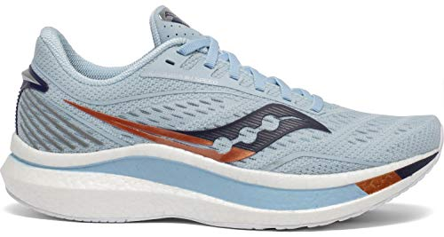 Saucony Women's Endorphin Speed, Sky/Midnight, 6.5 Medium