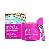 Sand & Sky Super Bounce Mask - Mascarilla facial hidratante humectante - Manzana emú australiana