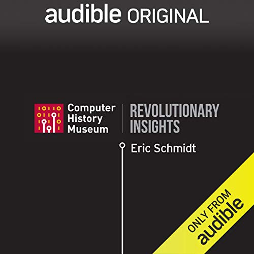 Eric Schmidt on Being Happily Overworked audiobook cover art