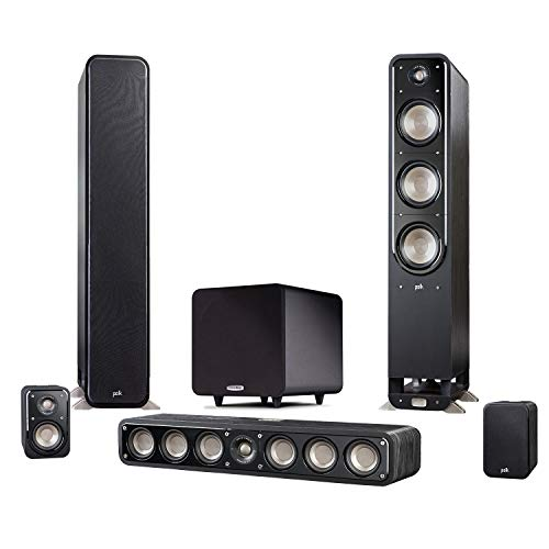 Find Discount Polk Signature Series 5.1 Channel System with S60 Pair S35 S10 Pair PSW111 AVRS650H