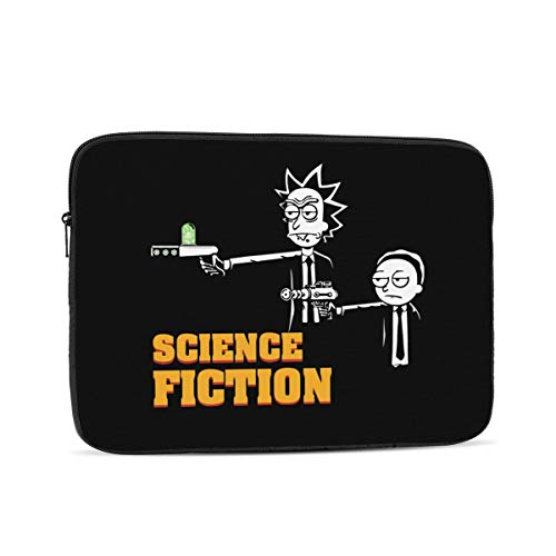 Kevin Holt Rick & Morty Pulp Fiction Comedy Laptop Sleeve Case for Apple 10-17 Inch New MacBook