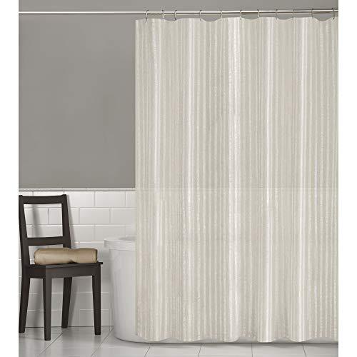 MAYTEX Linen Stripe, Shower Curtain