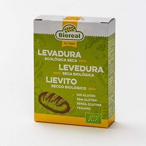 Bioreal Levadura Seca Activa Bio Sin Gluten 5 x 9 gramos (Total 45 gramos)