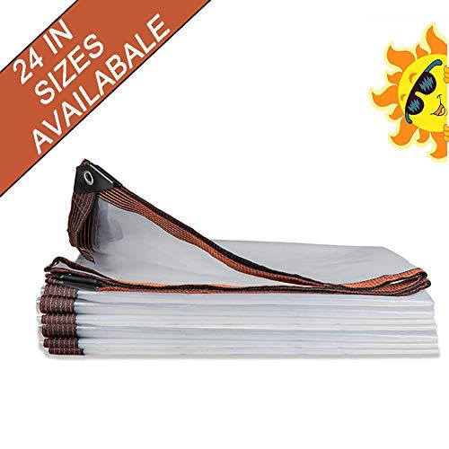 NaDrn Lona Impermeable Lona de Protección, Lona Impermeable, 100 g/m² Lonas Impermeables Exterior para Toldos Tienda de Campaña Jardín Piscina,9x15ft/3x5m