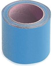 WUPSI Reparatietape voor alle dekzeilen en folies, 5 cm x 5 m (10 cm x 5 m, lichtblauw