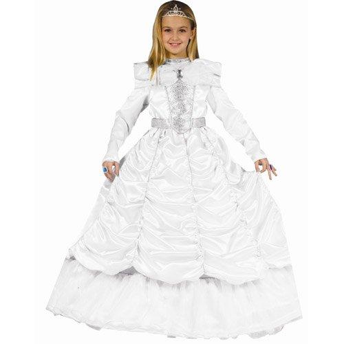 Dress Up America Costume de mariée royale luxueuse petite fille
