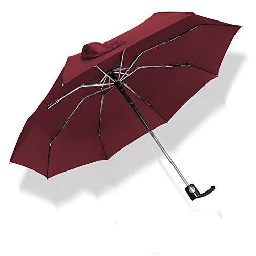 NFHBBAA Pluie Automatique Parapluie Pliant Ultra Léger Parapluie Enfants Anti-UV Parapluie Parapluie Mâle