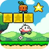 Fun and addictive platform game with 8-pixel and 16-bit 2D graphics (classic retro style). Music and sound effects in the retro style of 8 bits. System of better score and better time in Leaderboard.