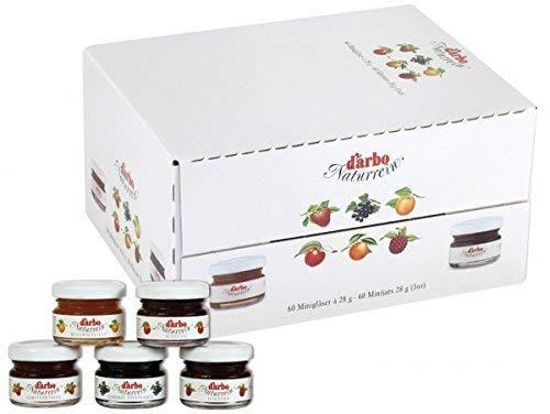 Darbo Portionen 60x28g, sortiert Fruchtanteil 35% +Fruchtanteil 50%