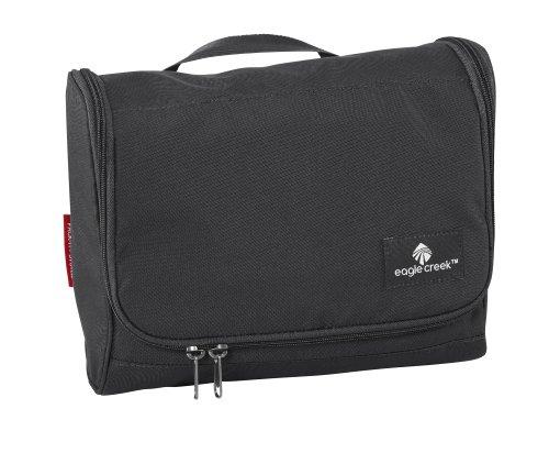 Eagle Creek Kulturbeutel Kosmetiktasche Pack-It Original On Board Hygienetasche mit Spiegel zum Aufhängen Kulturtasche, 26 cm, 5,5 l, schwarz