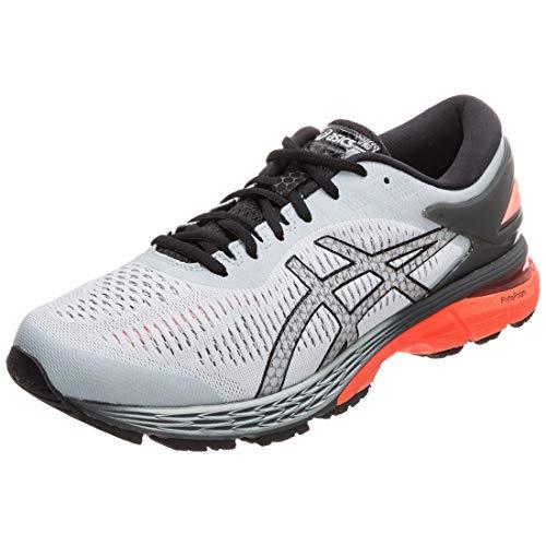 Asics Men's Gel-Kayano 25 Running Shoes,Grey (Mid Grey/Red Snapper 022) ,7.5 UK (42 EU)