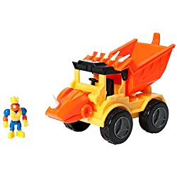 dinosaur toys for toddlers education insights Rocko the Styracosaurus Dump Truck