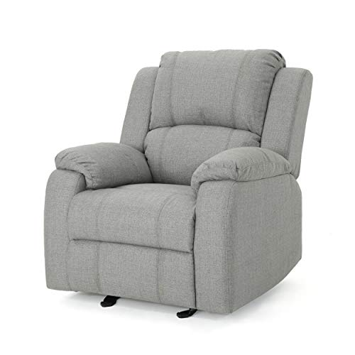 Christopher Knight Home Michelle Gliding Recliner, Grey + Black